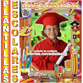 600 Plantillas Escolares Diplomas Photoshop Editables Psd