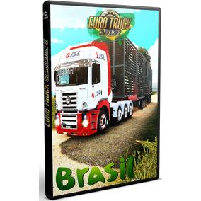 Euro Truck Simulator 2 + Melhores Mods Brasil Lançamento!
