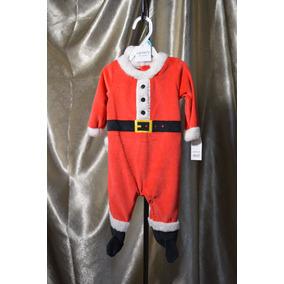 Disfraz Bebe Mameluco Santa Claus Navidad Talla 6 Meses