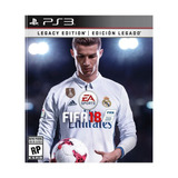 Juego Ps3 Fifa 18 Edición Legacy - G0005300