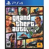 Gta 5 Grand Theft Auto V Juego Físico Ps4 Nuevo Sellado