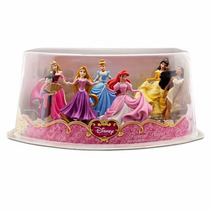 Playset Princesas Disney 2 Miniatura Mulan Pocahontas Aurora