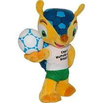 Pelúcia Oficial Fuleco Mascote Copa Fifa 2014 Maior 30 Cm