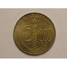 Flor) 2.000 Rs. 1938 - Caxias = Poligonal / C-06