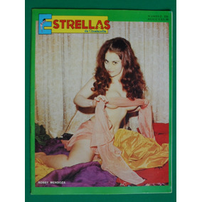 1970 Rossy Mendoza En Sexy Portada Revista Estrellas