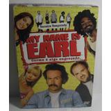 Dvd Box My Name Is Earl 3ª Temporada Lacrado Fabrica 4 Disco