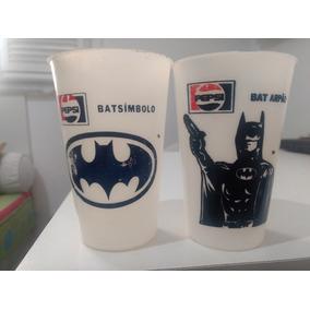 Copos Batman Pepsi Anos 90 Originais (2 Unid.)
