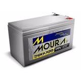 Bateria Moura Estacionária 12v 7a Vrla P/ Nobreak Alarme