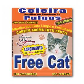 Coleira Anti Pulgas Para Gatos Free Cat