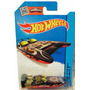 Auto Bote Carrera H2go Cabina Doble Lancha Hot Wheels Rdf1