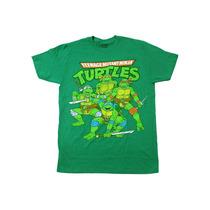 Remeras Tortugas Ninja Originales S, M, L Importas Nuevas!
