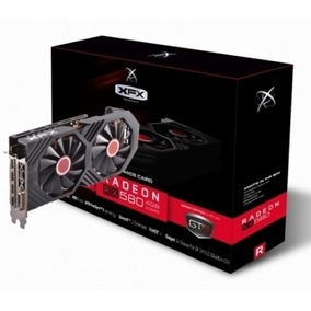 Placa Video Xfx Radeon Rx 580 Gts Xxx 4gb D5 Oc+ 1386m Bp