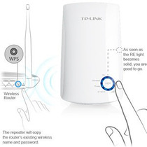 Repetidor Extensor Alcance Universal Wifi 300mbps Tlwa850re
