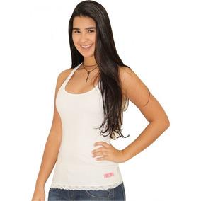 Camiseta Regata Volcom Only Feminina Branca 34547f40e4f