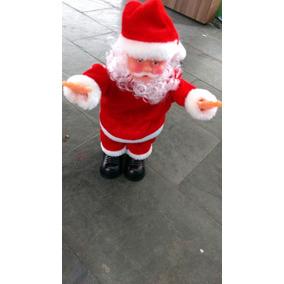 Papai Noel Musical Cambalhota Abdominal 25cm Altura