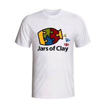 Camisa Camiseta Jars Of Clay Banda Cristã Rock Gospel