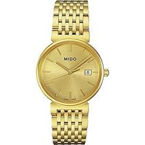 Mido M Dorada Del Reloj Para Hombre - Dial De Oro Cuarzo