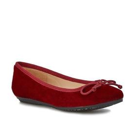 - Zapato Andrea Con Textura Aterciopelada Y Moño 2499048