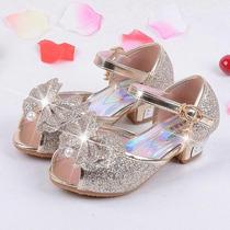 Hermosos Zapatos Fiesta Princesa Niña Sandalia Importada