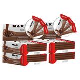 Max Bar 48 Barras De Proteina - 10g Proteina Varios Sabores