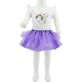 Vestido Blusa Falda Princesa Disney Fiesta Niña Mujer Bebes
