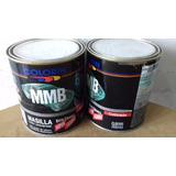 Mmb Masilla Colorada 0,9 Lt Pack 2 Unidades Colorin