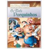 Dvd Os Tres Porquinhos (original Lacrado)