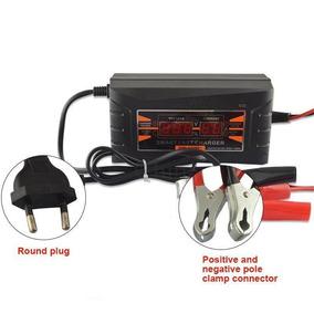 10 Amperes Carregador Bateria 12v 10a Carro Voltímetro
