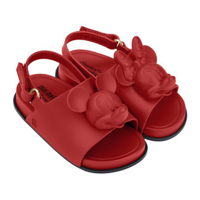 Sandália Mini Melissa Beach Slide Sandal + Disney