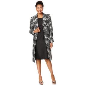 Le Suit Traje Sastre 2 Piezas Vestido Y Saco Blazer. Talla S