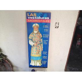 Precioso Poster Bastidor De Madera Vestiduras Sacerdotales