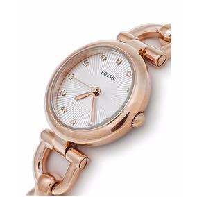 costo moderado Tener cuidado de comprar reloj fossil oro rosa