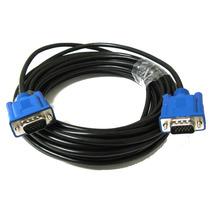 Cable De Vídeo Vga 10 Metros Computadora Laptop Proyector Pc