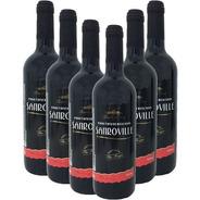Vinho Tinto Suave Sanroville 750ml (6 Garrafas)