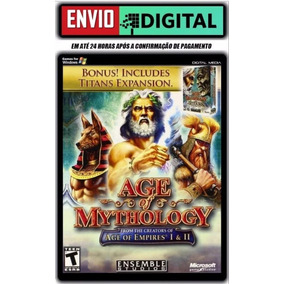 Age Of Mythology E Age Of Mythology-the Titans Pt-br Pc