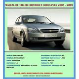 Manual De Taller Reparación Chevrolet Corsa Plus 2005-2009