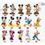 Aplique Mickey Safari - Minnie E Sua Turma (10 Unidades)
