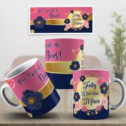 Caneca Dia Das Mães Presente Especial Com Mensagem