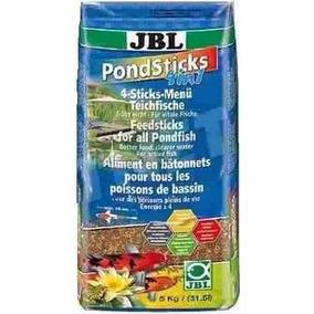 Ração Carpas E Kinguios Jbl Pond Sticks 4x1 5 Kg