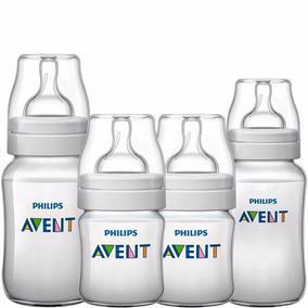 Kit Mamadeiras Classic 04 Pçs 0m A 6 M - Philips Avent