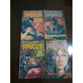Diabolik - Record - 01, 02, 03, 06 - R$ 10,00 Cada Exemplar