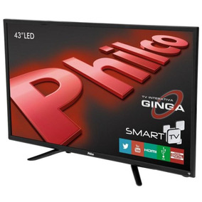 Smart Tv Led 43 Ph43n91dsgwa Android Wi-fi Philco Preta