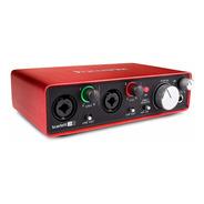 Interface De Audio  Scarlett 212