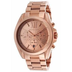 Relógio Michael Kors Luxo Mk5503 Rose Novo C/ Caixa 0099