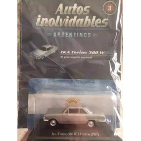 Lote De Autos Inolvidables Citroen 3cv; Torino Y Renault 4