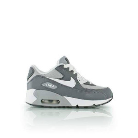 Zapatillas Nike Air Max Gris Nene Nena Bebe Chicos Original