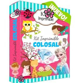 Kit Imprimible Colosal Empresarial 2018 Candy Bar Calendario