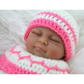 Bebê Reborn Mini Menina Negra Realista - Promoção