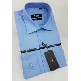 Camisa Hugo Boss Dif Tipos De Azul Promocion Envio Gratis