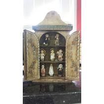 Oratório Capela Condominio Dos Santos Madeira Com Imagens F